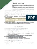 Patria Vieja. Reconquista y Patria Nueva