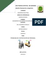 Tarea5 Dr 7a g1 Ejercicio de Modelo Contrataciòn de Personal