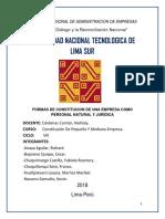 FORMAS DE CONSTITUCION DE UNA EMPRESA COMO PERSONA NATURAL Y JURIDICA.pdf