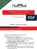 Activos No Corrientes
