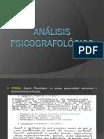 Análisis psicografologico