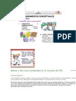 Bienes y Servicios Contenidos en La Canasta Del IPC