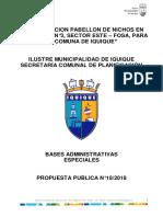 Bases Administrativas Especiales 18 2018