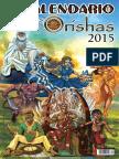 Calendario de los Orishas 2015 Ilustrado