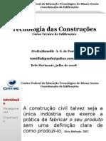 Tecnologia das Construções - PPT 1