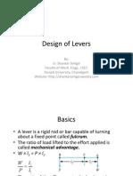 Levers Presentation