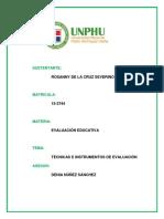 TÉCNICAS E INSTRUMENTOS DE EVALUACIÓN.docx