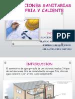 Inst.sanitaria Materiales Empleados.