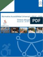 Normativa de Accesibilidad Universal Dibujada y Comentada D50 y DDU OGUC Chile Ciudad Accesible 2018 v2