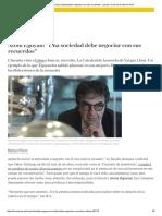 """Atom Egoyan_ """"Una Sociedad Debe Negociar Con Sus Recuerdos"""" _ Luces _ Cine _ El Comercio Perú"""