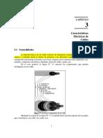 - Características Eléctricas de Los Cables