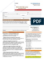 2018 donation form