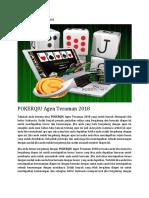 Pokerqiu Agen Teraman 2018