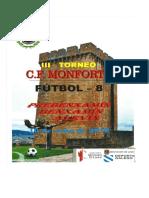 III Torneo c.f. Monforte F-8