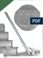 Manual de Escritura Académica y Profesional (1) (1)