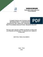 2010_Vera_Competencia en Tecnologías de Información y Comunicación en Docentes Del Área de Comunicación de Instituciones Educativas- Región Calla (1)