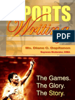 139554657 Sports Writing Ppt