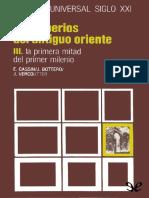 Cassin, Bottero y Vercoutten. Los Imperios Del Antiguo Oriente III. Historia Universal Siglo XXI 04.