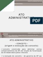 Da II 2017 2018 o Ato Administrativo