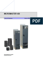 Manual Siemens Micromaster 430