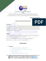 Temario Diplomado en Autocad Architecture Temas Estudiados