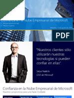 Confianza en La Nube Empresarial de Microsoft v2.0 - 08.17.16