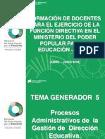 Procedimientos Administrativos - Pérez