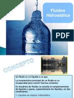 Hidrostatica - Mec. de Fluidos