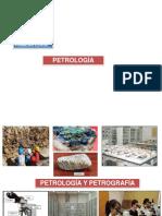 Petrología y Petrografía