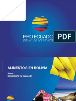 Alimentos en Bolivia 2013