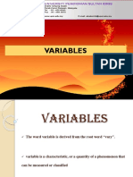 1. Chapter 1 Variables (Revised)