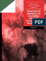 Creacion de Empresa en Colombia año 2017