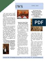June 2018 UC Newsletter