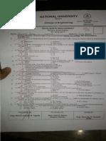 Previous Exam