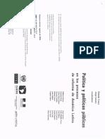 Políticas y Políticas Públicas en los Procesos de Reforma de América Latina  Cap I.pdf