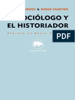 Bourdieu ElSociologoyelHistoriador