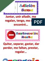 Operaciones Suma Resta