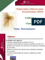 Clase 5.2 MBE Determinantes