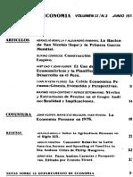 La Crisis Económica Peruana