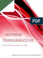 Informe 01 de Topo