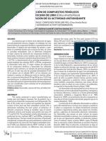 24-Articulo 3EXTRACCIÓN DE COMPUESTOS FENÓLICOS DE LA CÁSCARA DE LIMA (Citrus limetta Risso) Y DETERMINACIÓN DE SU ACTIVIDAD ANTIOXIDANTE.pdf