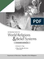 TM Intro to World Religions
