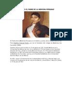 Quién Es El Padre de La Medicina Peruana