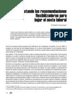 Refutando las recomendaciones flexibilizadoras para bajar el costo laboral_giosa zuazua _ CEFIRO N 3_2016.pdf