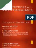 Tabela Periodica e a Periodicidade Quimica (1)