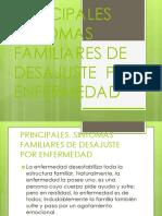 Principales Sintomas Familiares de Desajuste Por Enfermedad