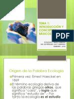 Tema 1 - Ecologia y Medio Ambiente