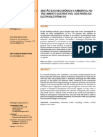 Gestão Socioeconômica e Ambiental No Tratamento Sustentável Dos Resíduos Eletroeletrônicos