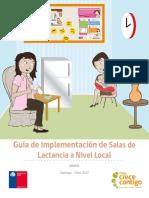 Guia de Implementacion Sala de Lactancia 2017