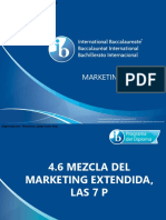 4 6 Mezcla Del Marketing Extendida Las 7 P